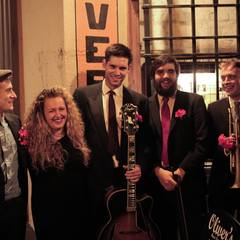 The Louise Balkwill Group Jazz Band in the UK