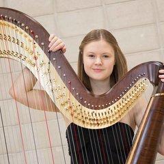 Dina Nimax Harpist in the UK