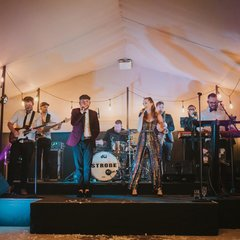 Strobe Wedding Band in the UK