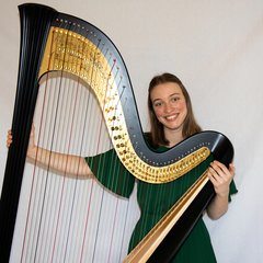 Lise Vandersmissen Harpist in London