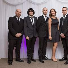 JMack Function Band Wedding Band in Glasgow