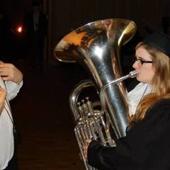 Aine Jackson Tuba Player in Oxfordshire