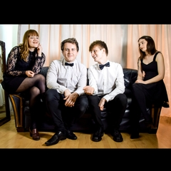 The LindQuartet Jazz Band in the UK