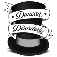 Duncan Disorderly Wedding Band in the UK