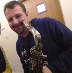 Ben Donnelly Saxophone Player in Cambridge