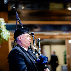 George Taylor Bagpiper in Glasgow