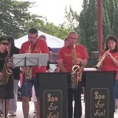 Sax For Fun Swing Band in Bristol