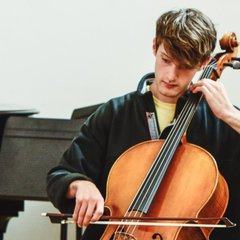 Cai Waverley-Hudson Cellist in Cardiff