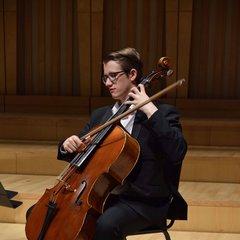 James McBeth Cellist in Cardiff