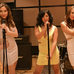 The Girl Group Collective Wedding Band in the UK