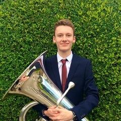 Harry Beach Tuba Player in Barnsley