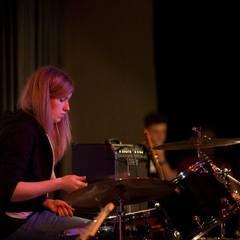 Lotte Berg Drummer in Manchester