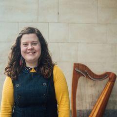 Elinor Evans Harpist in Cardiff