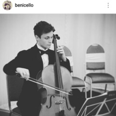 Benjamin Matthews Cellist in Manchester