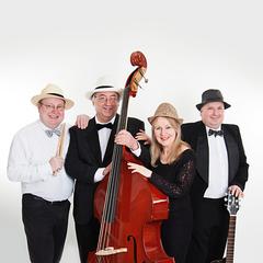 The Quantum Quartet Jazz Band in Coventry