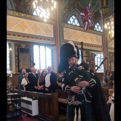 Colin Murphy Bagpiper in Manchester