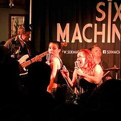 Six Machine Wedding Band in the UK
