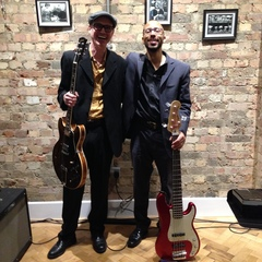 The Jonny Berglund Mike Searl Duo Jazz Band in the UK