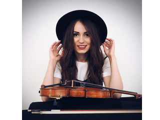 Nataly Corolscaia Violinist in Chester