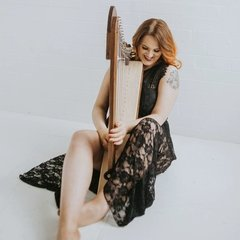 Rebecca Hall Harpist in the UK