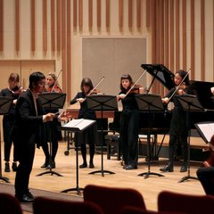 The Camerata Players Orchestra in Oldham