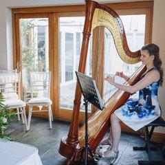 Katie Bayliss Harpist in Cardiff