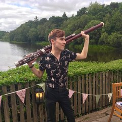 Archie Auger Bassoonist in Birmingham