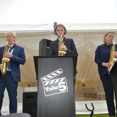 Take 5 Sax Trio Jazz Band in Derby