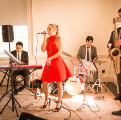 The Rocca Brothers Quintet Function Band in London