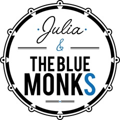 Julia & The Blue Monks Jazz Band in the UK