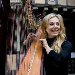 Fran Barsby Harpist in the UK