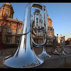CJ D Tuba Player in North Yorkshire