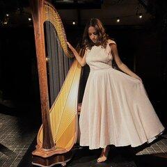 Stefania Lo Castro Harpist in the UK