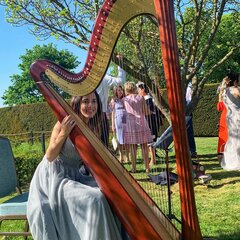 Stefania Lo Castro Harpist in London