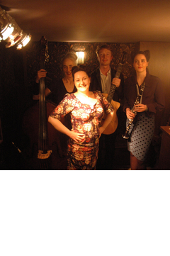 The London Sparrows Jazz Band in the UK