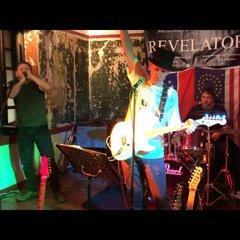 Mudslide Morris & the Revelators Wedding Band in Oxford