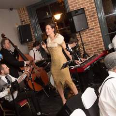 Atomic Swing Jazz Band in the UK