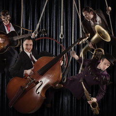 The Swing Ninjas Jazz Band in the UK