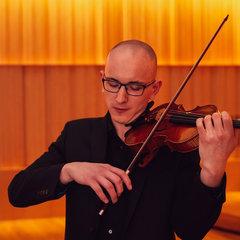 Karel Vrbik Violinist in Birmingham