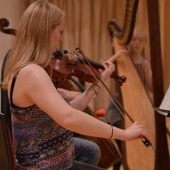 Hazel Cox Viola Player in Oxford