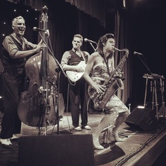 The Swing Commanders Jazz Band in Chester