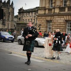 ABS Piping Services Bagpiper in Glasgow