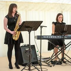 Lucille & Erica Saxophone Player in Coventry