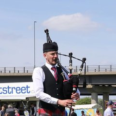 Rick Brown Bagpiper in Manchester