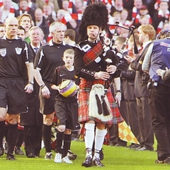 Terry Carr Bagpiper in Manchester