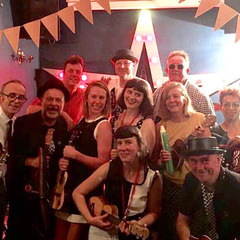 The Ukulele Ska Collective Function Band in London