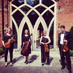 Bacanu String Quartet Wedding Band in Birmingham