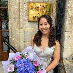 Risa Sekine Violinist in Birmingham