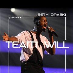 Seth Oraeki Singer in Bedfordshire