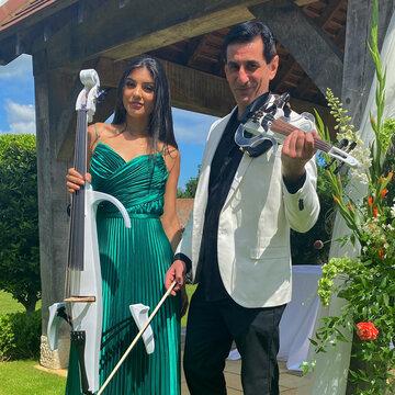 Electric Violin Duo London's profile picture